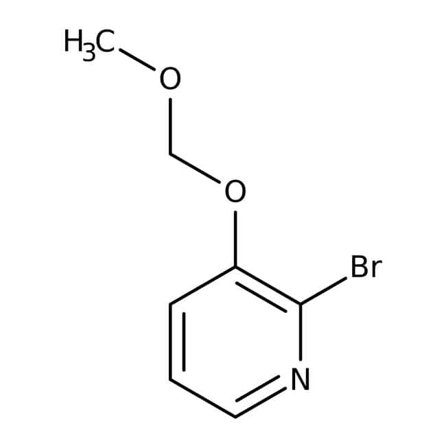 Alfa Aesar™2-Bromo-3-(methoxymethoxy)pyridine, 96% 5g Alfa Aesar™2-Bromo-3-(methoxymethoxy)pyridine, 96%