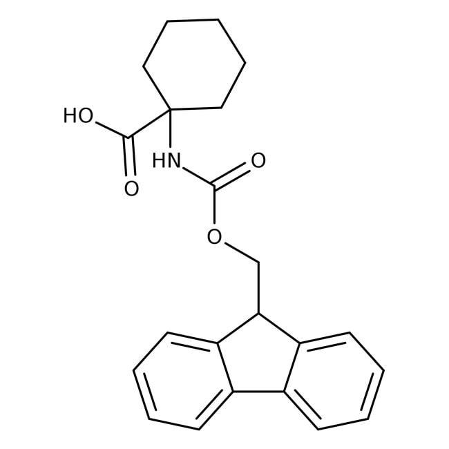 Alfa Aesar™1-(Fmoc-amino)acide cyclohexanecarboxylique, 98+ % 5g Alfa Aesar™1-(Fmoc-amino)acide cyclohexanecarboxylique, 98+ %