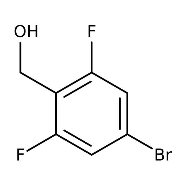 Alfa Aesar™4-Brom-2,6-Difluorbenzylalkohol, 97% 1g Alfa Aesar™4-Brom-2,6-Difluorbenzylalkohol, 97%