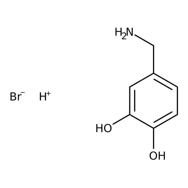 3,4-Dihydroxybenzylamine hydrobromide, 98%, ACROS Organics