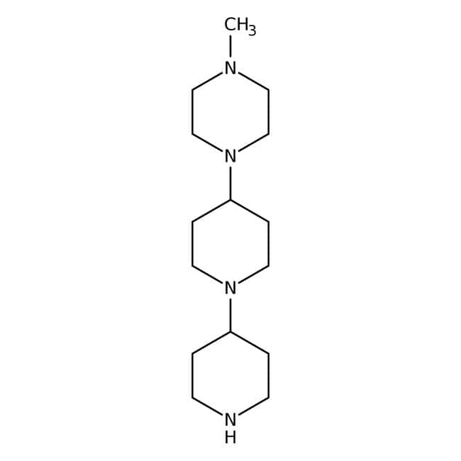 1-Methyl-4-[1-(4-piperidyl)-4-piperidyl]piperazine 98.0+%, TCI America™