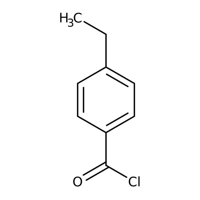 Alfa Aesar™4-Ethylbenzoylchlorid, 98+% 5g Alfa Aesar™4-Ethylbenzoylchlorid, 98+%