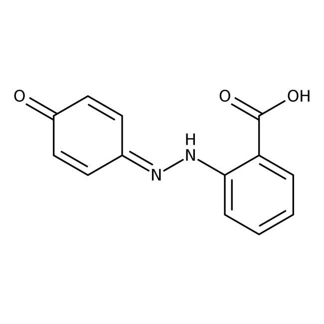 Alfa Aesar™2-(4-Hydroxyphenylazo)benzoic acid, 98+%: Hydrazines and derivatives Organonitrogen compounds