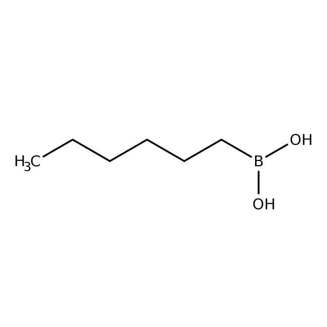 Alfa Aesar  1-Hexylboronic acid, 97%