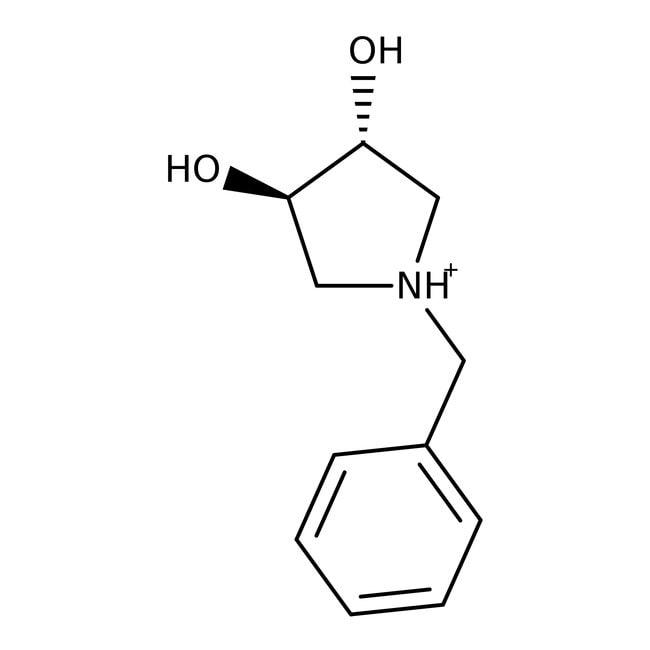 (3R,4R)-(-)-1-Benzyl-3,4-pyrrolidindiol, 97%, ACROS Organics™ 1g; Glass bottle (3R,4R)-(-)-1-Benzyl-3,4-pyrrolidindiol, 97%, ACROS Organics™