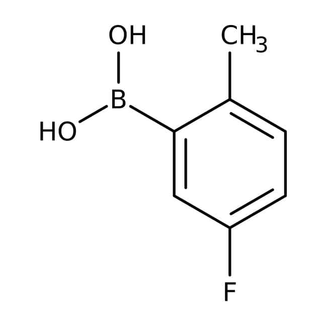 5-Fluoro-2-methylphenylboronic acid, 97%, ACROS Organics