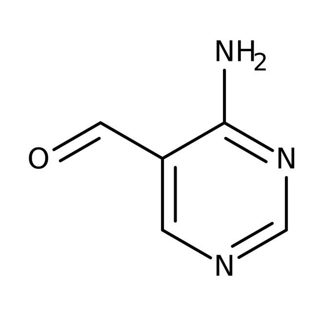 Alfa Aesar™4-Aminopyrimidine-5-carboxaldehyde, 97% 1g Alfa Aesar™4-Aminopyrimidine-5-carboxaldehyde, 97%
