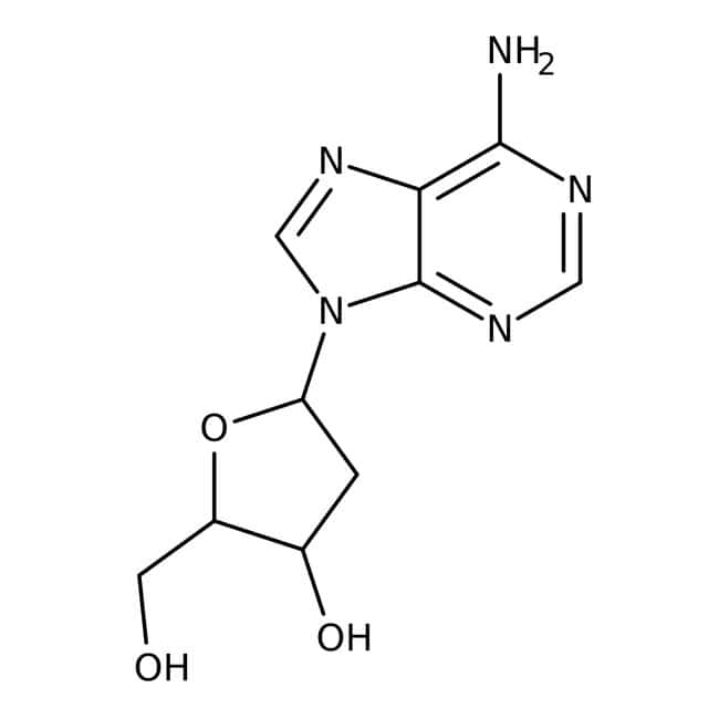 2'-Deoxyadenosine hydrate, 99%, ACROS Organics™