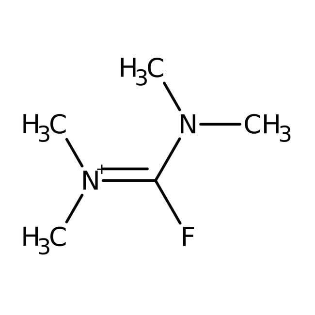 Fluoro-N,N,N',N'-tetramethylformamidinium hexafluorophosphate, 99%, ACROS Organics™
