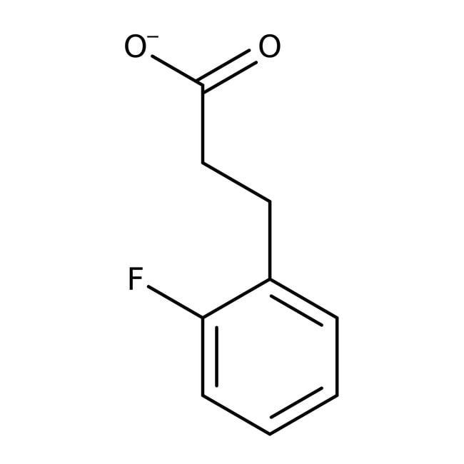 Alfa Aesar™3-(2-Fluorphenyl)propionsäure, 96% 10g Alfa Aesar™3-(2-Fluorphenyl)propionsäure, 96%
