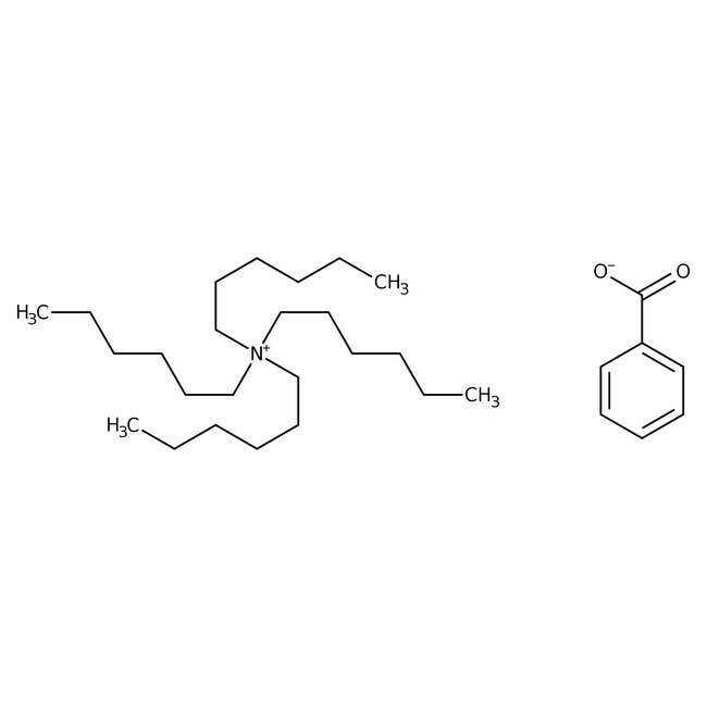 Alfa Aesar™Benzoato de Tetra-n-hexilamonio, 85 % aprox., agua 10 % aprox. 5g Alfa Aesar™Benzoato de Tetra-n-hexilamonio, 85 % aprox., agua 10 % aprox.