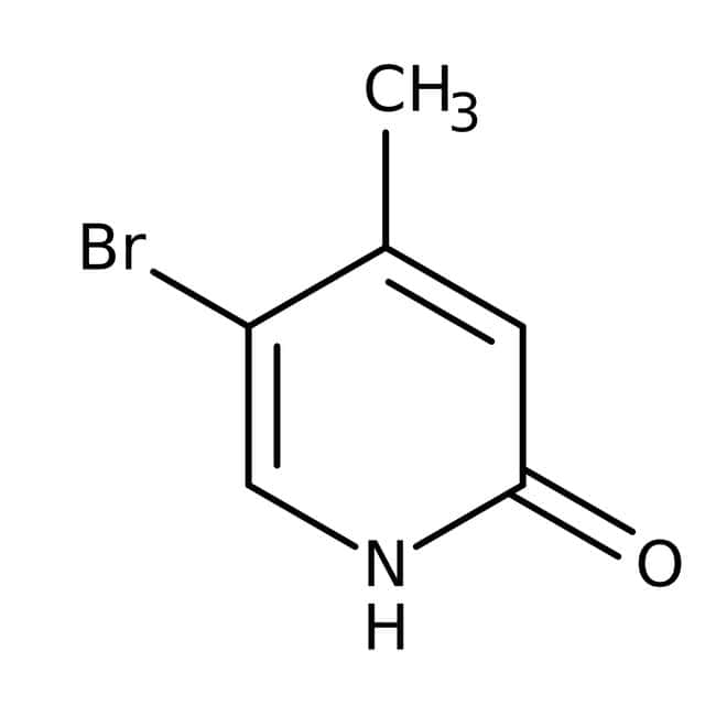 Alfa Aesar™5-Bromo-2-hydroxy-4-methylpyridine, 97%