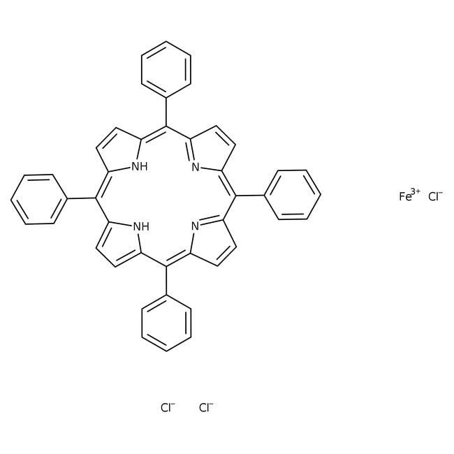 Alfa Aesar™Iron(III) meso-tetraphenylporphine chloride 1g Alfa Aesar™Iron(III) meso-tetraphenylporphine chloride