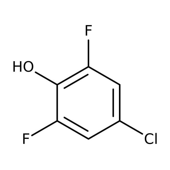 Alfa Aesar™4-Chlor-2,6-difluorphenol, 97%: Chlorophenols Halophenols