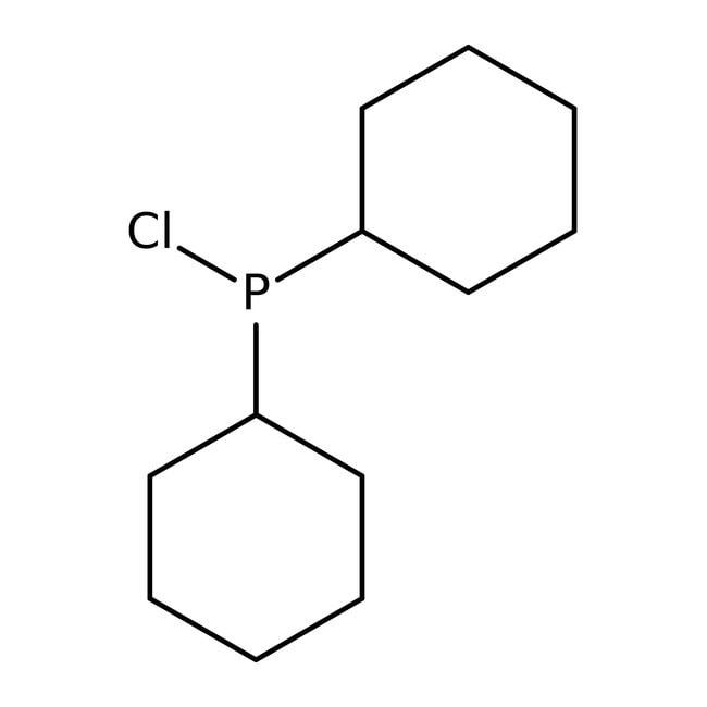 Chlorodicyclohexylphosphine, 97%, ACROS Organics™ 5g; Glass bottle Chlorodicyclohexylphosphine, 97%, ACROS Organics™