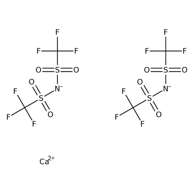 Alfa Aesar™Calcium bis(trifluoromethylsulfonyl)imide 5g Alfa Aesar™Calcium bis(trifluoromethylsulfonyl)imide