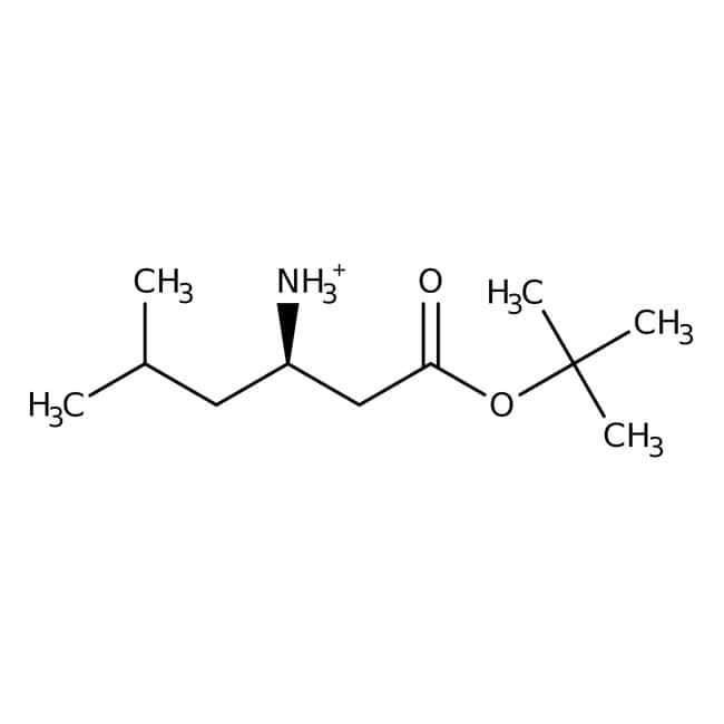 tert-Butyl (3R)-3-amino-5-methylhexanoate, 97%, ACROS Organics™