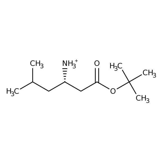 tert-Butyl (3S)-3-amino-5-methylhexanoate, 95%, ACROS Organics