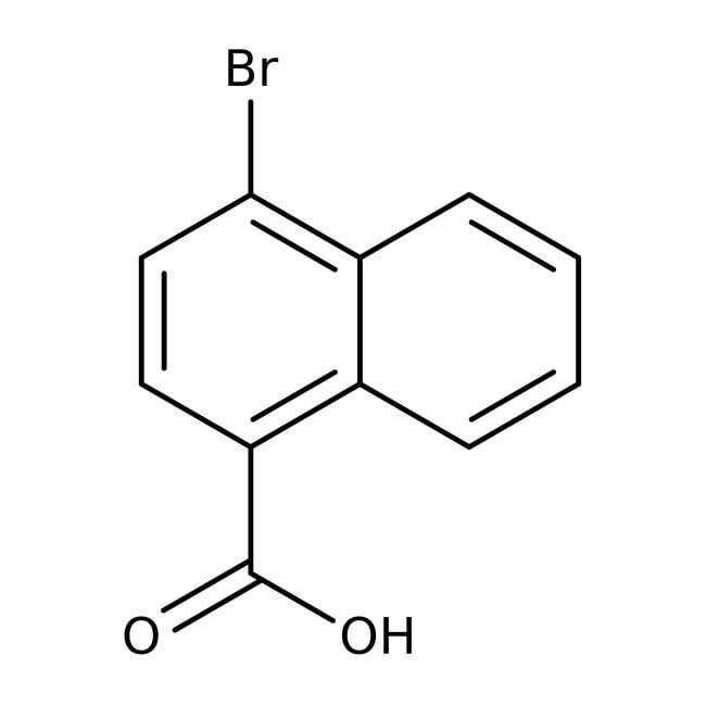 Alfa Aesar™Acide 4-bromo-1-naphthoïque, 98 % 1g Alfa Aesar™Acide 4-bromo-1-naphthoïque, 98 %