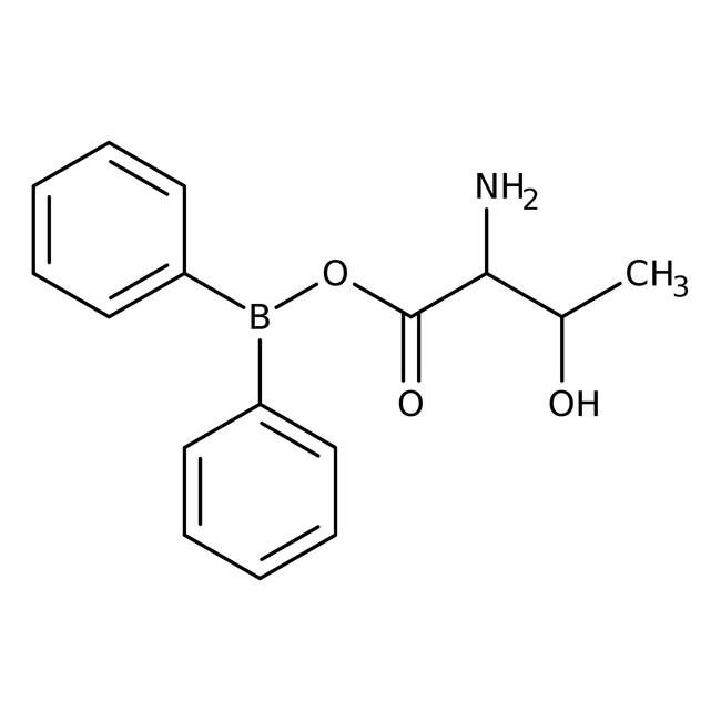 Alfa Aesar™L-Threonyldiphenylborinat, 95% 250mg Alfa Aesar™L-Threonyldiphenylborinat, 95%
