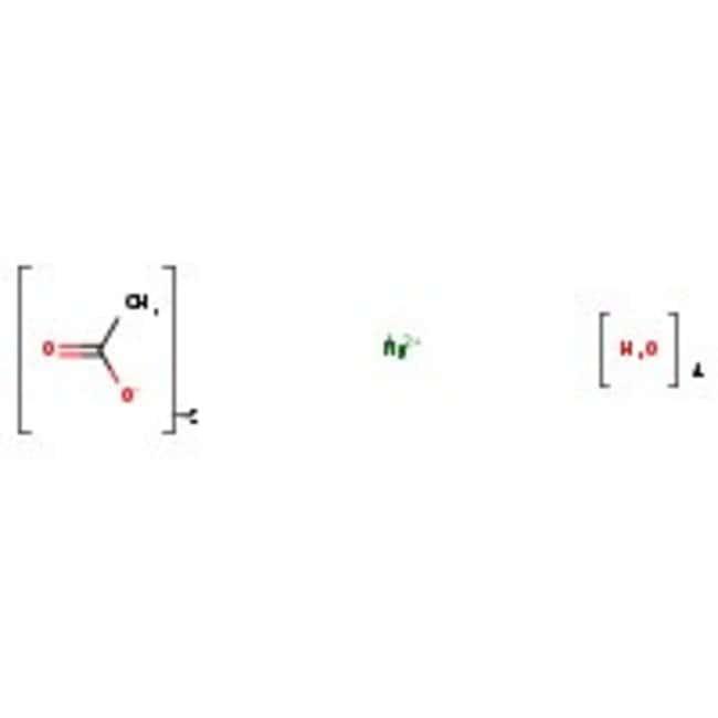 Magnesiumacetat-Tetrahydrat, 97.5%, reinst, kristallin, ACROS Organics™ 250g; Kunststoffflasche Magnesiumacetat-Tetrahydrat, 97.5%, reinst, kristallin, ACROS Organics™