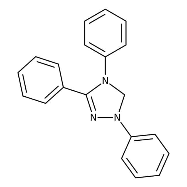 1,3,4-Triphenyl-4,5-dihydro-1H-1,2,4-triazol-5-ylidene, ACROS Organics™ 1g; Glass bottle Heteroaromatic compounds