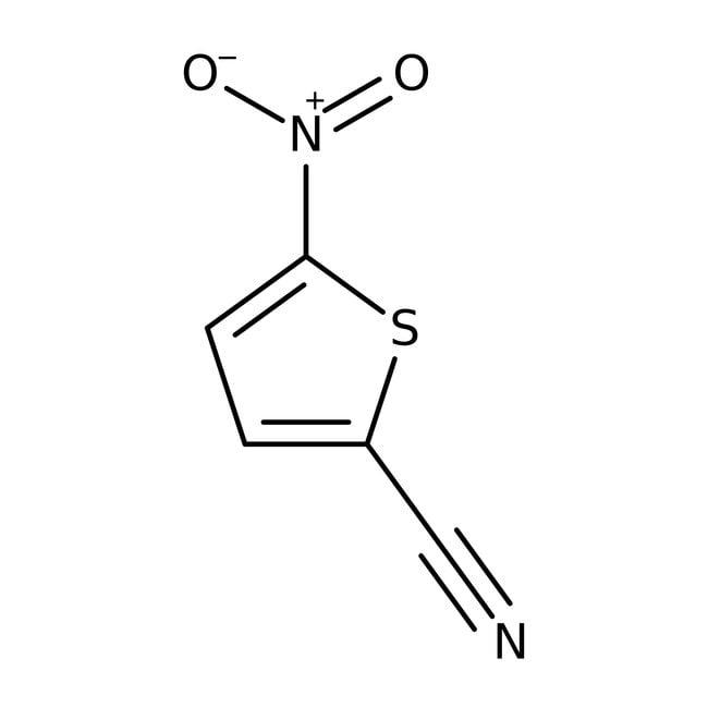 5-Nitrothiophen-2-carbonitril, 98%, Acros Organics 5g, Glasflasche 5-Nitrothiophen-2-carbonitril, 98%, Acros Organics