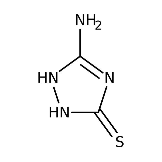Alfa Aesar  3-Amino-5-mercapto-1,2,4-triazole, 98+%
