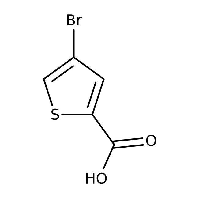 4-Brom-2-thiophencarbonsäure, 97%, Maybridge Braunglasflasche, 5g 4-Brom-2-thiophencarbonsäure, 97%, Maybridge