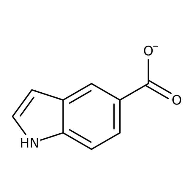 Alfa Aesar™Indole-5-carboxylic acid, 98% 25g Alfa Aesar™Indole-5-carboxylic acid, 98%