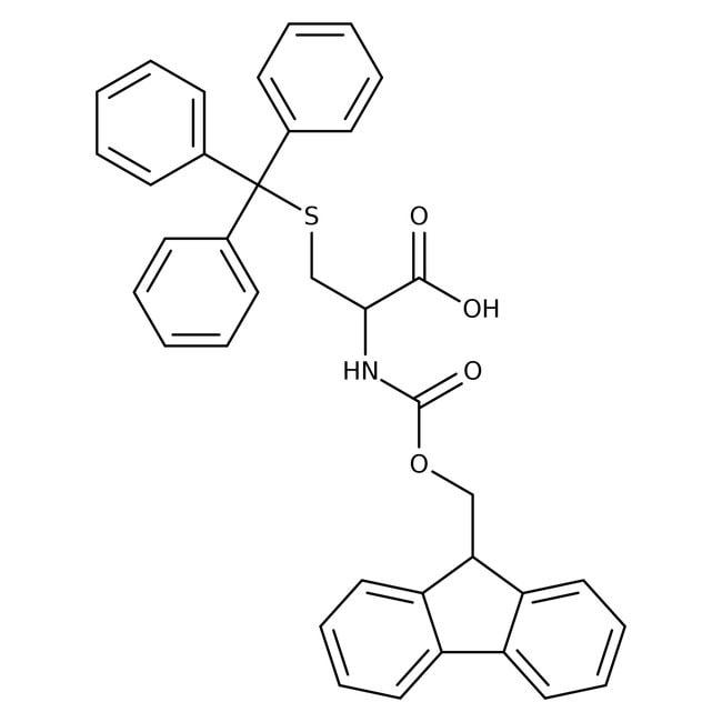 Alfa Aesar™Nalpha-Fmoc-S-trityl-D-cysteine, 98% 1g Alfa Aesar™Nalpha-Fmoc-S-trityl-D-cysteine, 98%