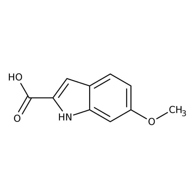 Alfa Aesar  6-Methoxyindole-2-carboxylic acid, 95%