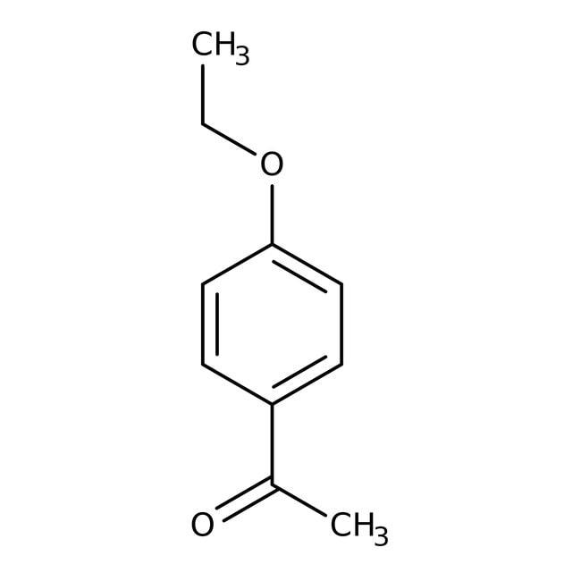 4'-Ethoxyacetophenone, 99%, ACROS Organics™ 5g; Glass bottle 4'-Ethoxyacetophenone, 99%, ACROS Organics™