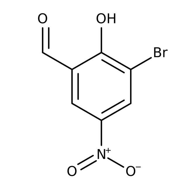 Alfa Aesar™3-Bromo-5-nitrosalicylaldehyde, 98%