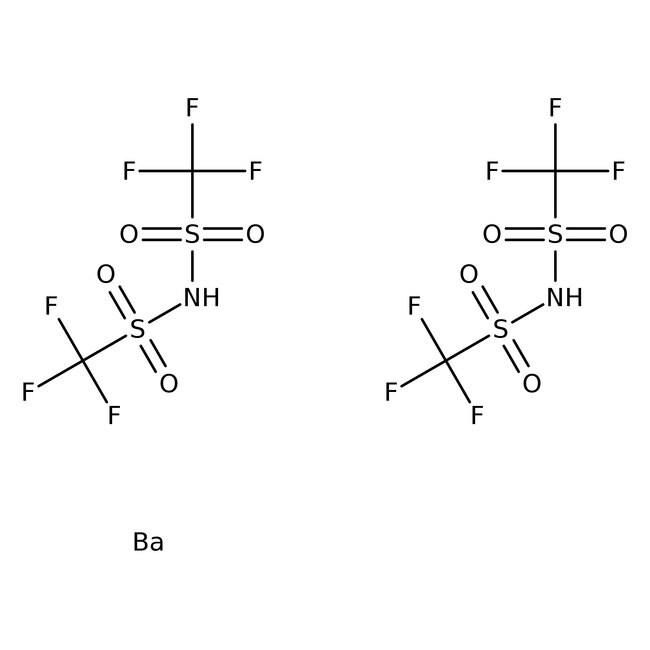 Alfa Aesar™Barium bis(trifluoromethylsulfonyl)imid 5g Produkte