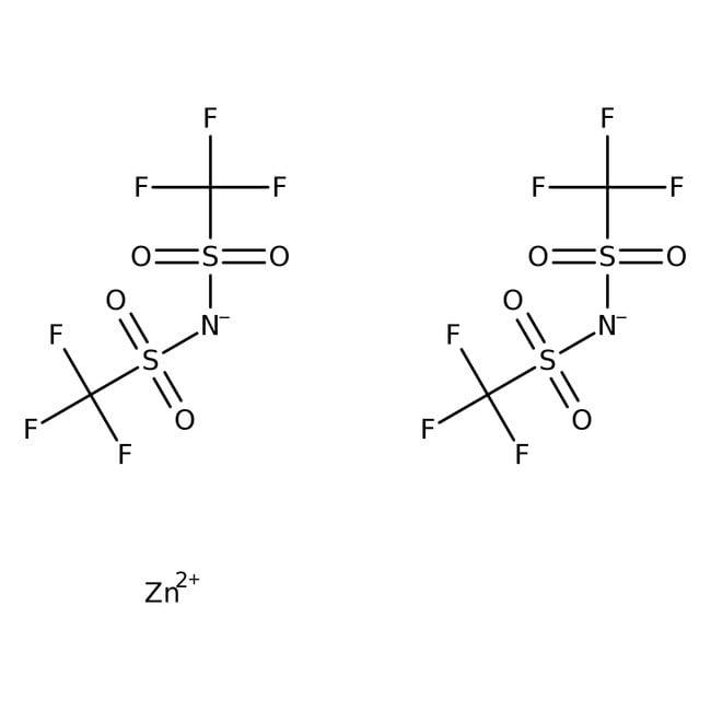 Alfa Aesar™Zinc bis(trifluoromethylsulfonyl)imide 250mg Alfa Aesar™Zinc bis(trifluoromethylsulfonyl)imide