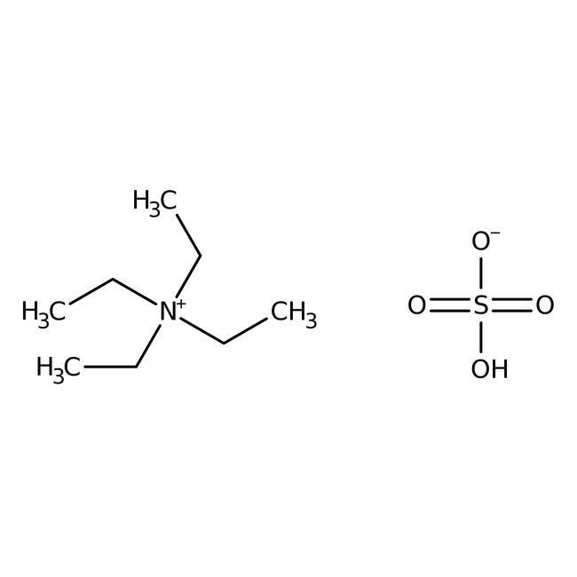 Tetraethylammonium hydrogensulfate, 99+%, HPLC grade, ACROS Organics