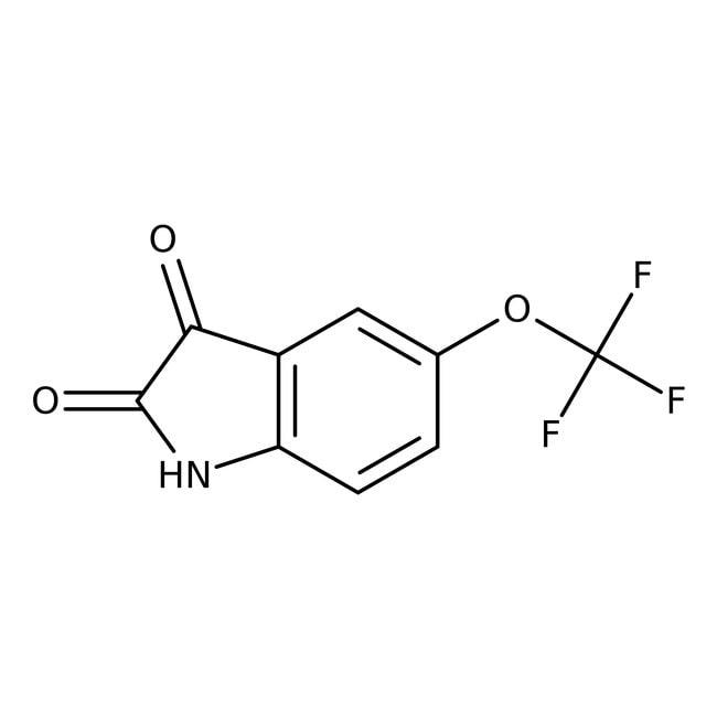 Alfa Aesar  5-(Trifluoromethoxy)isatin, 98%