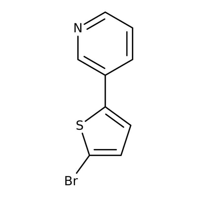 3-(5-bromo-2-thienyl)pyridine, 97%, Maybridge™ Amber Glass Bottle; 250mg 3-(5-bromo-2-thienyl)pyridine, 97%, Maybridge™