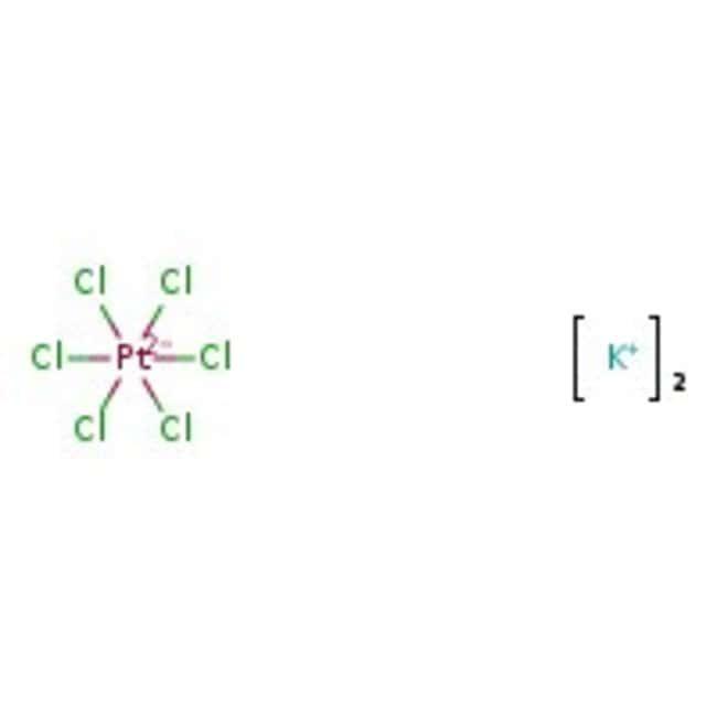Potassium hexachloroplatinate(IV), ca. 40% Pt, ACROS Organics