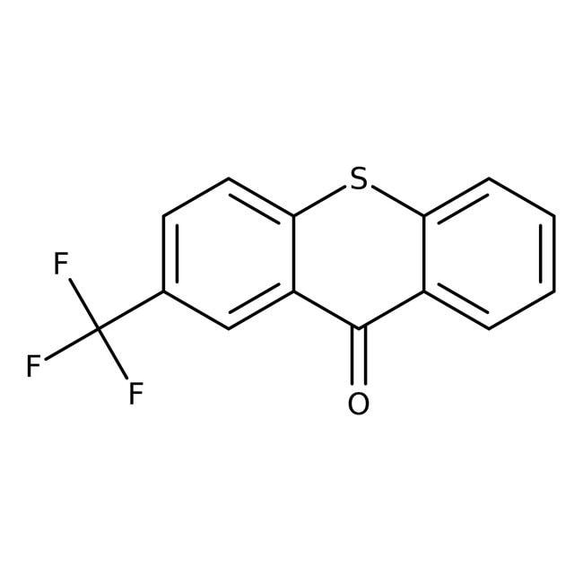 Alfa Aesar™2-(Trifluormethyl)-thioxanthen-9-on, 98% 25g Alfa Aesar™2-(Trifluormethyl)-thioxanthen-9-on, 98%