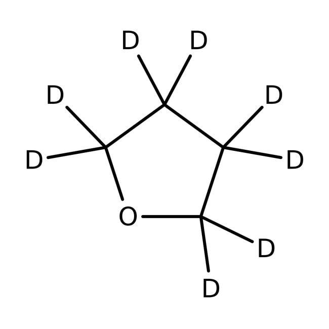 Alfa Aesar™Tetrahydrofuran-d8, 100%(Isotopic) 2 each; Prescored ampoules, 0.75mL/ampoule Alfa Aesar™Tetrahydrofuran-d8, 100%(Isotopic)