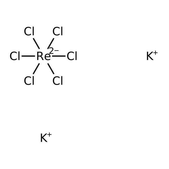 Alfa Aesar™Kaliumhexachlorrhenat(IV), 99.9% (Metallbasis) 5g Alfa Aesar™Kaliumhexachlorrhenat(IV), 99.9% (Metallbasis)