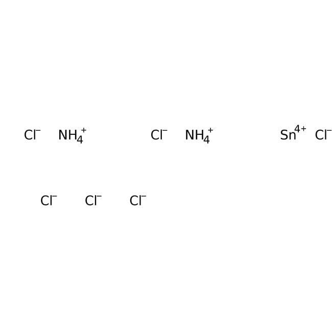 Alfa Aesar™Ammonium hexachlorostannate(IV), 98% 1000g Alfa Aesar™Ammonium hexachlorostannate(IV), 98%