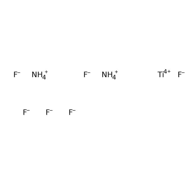 Ammonium hexafluorotitanate(IV), 99.99%, (trace metal basis), ACROS Organics