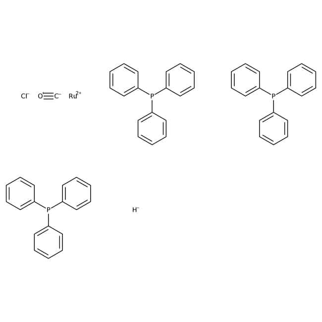 Alfa Aesar™Carbonylchlorohydridotris(triphenylphosphine)ruthenium(II) 5g Alfa Aesar™Carbonylchlorohydridotris(triphenylphosphine)ruthenium(II)