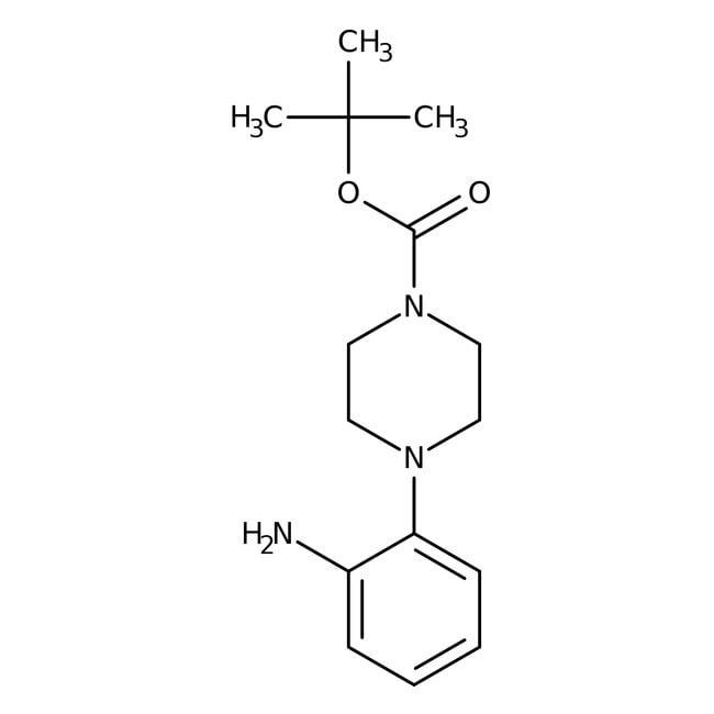Alfa Aesar™1-Boc-4-(2-aminophenyl)piperazine, 97% 1g Alfa Aesar™1-Boc-4-(2-aminophenyl)piperazine, 97%