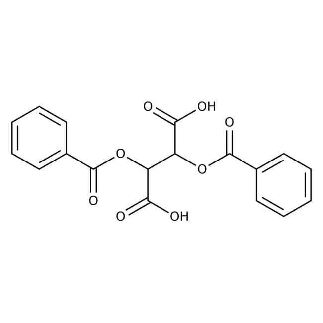 (+)-Dibenzoyl-D-tartaric acid, 98+%, ACROS Organics™