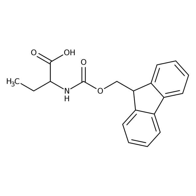 Alfa Aesar™(R)-2-(Fmoc-amino)butyric acid, 98% 25g Alfa Aesar™(R)-2-(Fmoc-amino)butyric acid, 98%