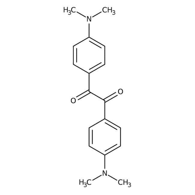 4,4'-Bis(dimethylamino)benzil, 98%, Acros Organics Glass bottle; 5g 4,4'-Bis(dimethylamino)benzil, 98%, Acros Organics